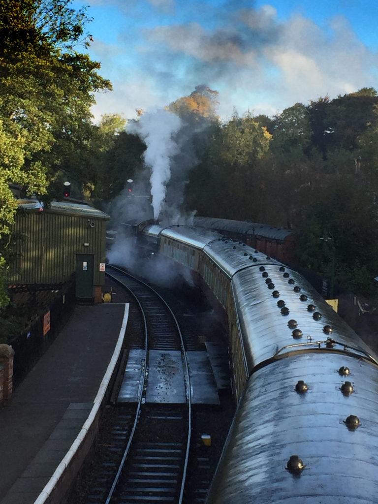 Steam Train - Pickering Station