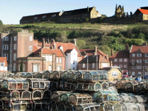 Whitby, North Yorkshire, UK - Looking at the Abbey