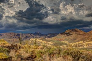 Mojave Desert - Storm Brewing